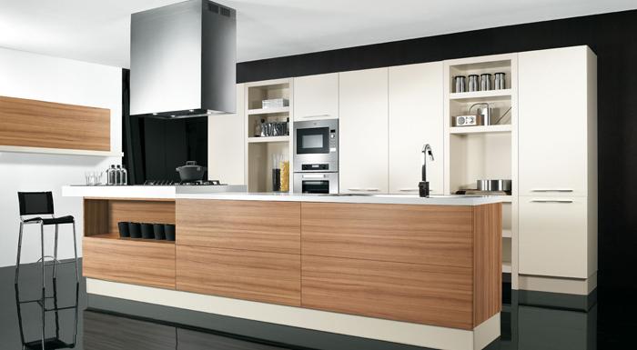 Cucine In Rovere. Free Moderno Cucina By Galleria Del Vento With ...