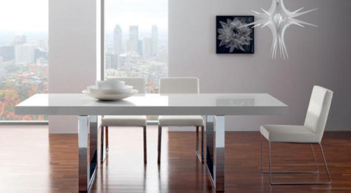 Tavoli per cucina tavolo cristallo allungabile - Epierre